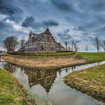 Bongastate in Witmarsum, Friesland sur
