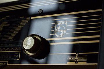 Philips radio van
