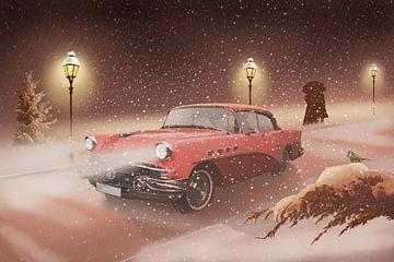 Romantische Winterzeit von