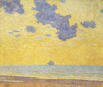 Große Wolken, Théo van Rysselberghe