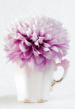 Pink Flower van Clazien Boot