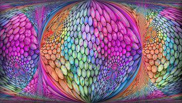 Kleurrijke bollen