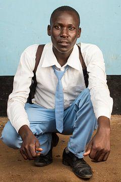 Nog een leerling middelbare school in Tanzania van Jeroen Middelbeek