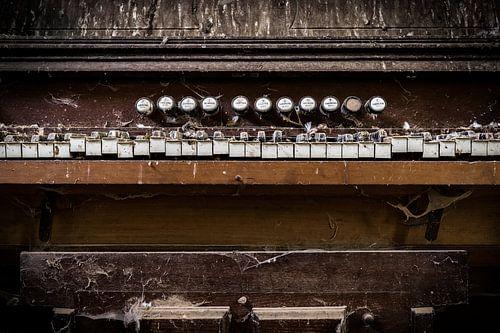 Orgel Nahaufnahme von Inge van den Brande