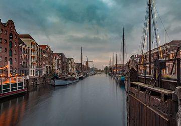Aelbrechtskolk, Rotterdam Delfshaven van Arisca van 't Hof