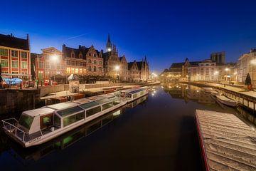 Heerlijke ochtend in Gent van Roy Poots