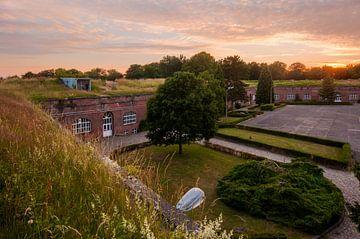 Zonsondergang Citadel van Diest sur Bert Beckers