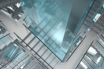 Staircase Maze van Jörg Hausmann