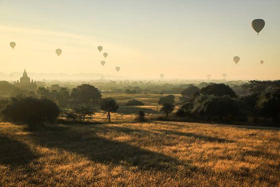 Magische ochtenden in Bagan (Myanmar)