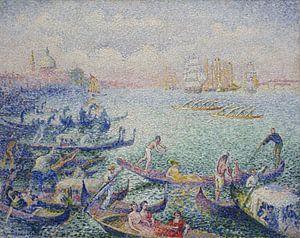 Regatta in Venedig, Henri-Edmond Cross
