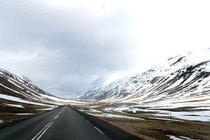 Ringweg 1, noordoost IJsland van