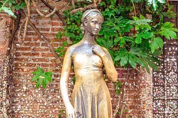 Het standbeeld van Julia in Verona van Dennis  Georgiev