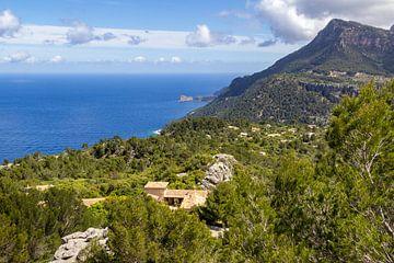 Landschaft im Norden der Baleareninsel Mallorca von Reiner Conrad