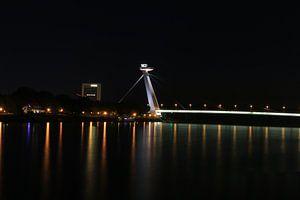 Brug 's nachts van hako photo