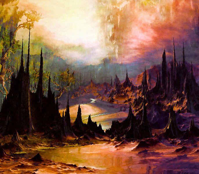 Les pics et les vallées Outlandish van Angel Estevez