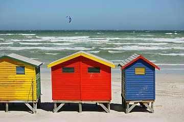 southafrica ... muizenberg beach huts I von Meleah Fotografie