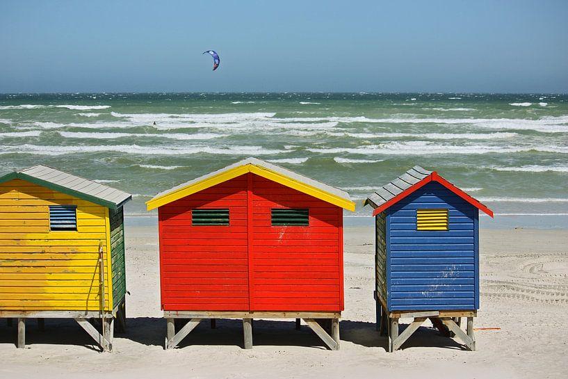 southafrica ... muizenberg beach huts I van Meleah Fotografie