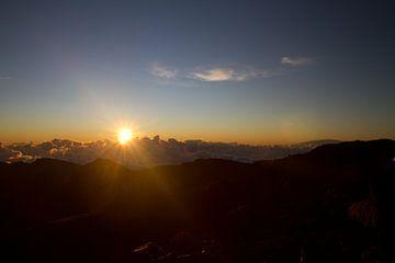 Sonnenaufgang auf Hawaii von Christoph Schaible