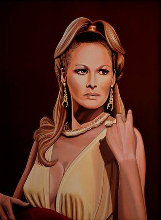 Ursula Andress schilderij van Paul Meijering