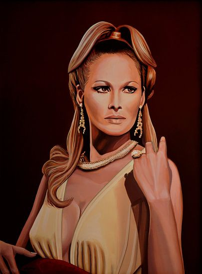 Ursula Andress schilderij