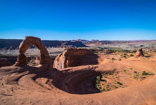 Delicate arch , Utah amerika van Ton Kool