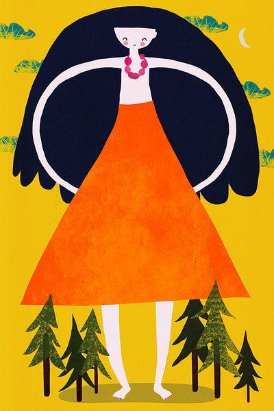 gigantisch meisje van treechild .