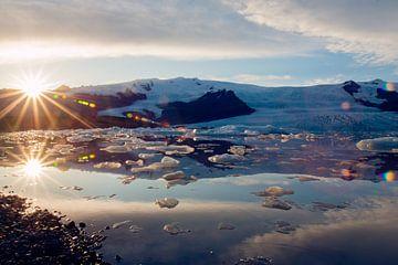 Fjallsárlón Iceberg Lagoon, Iceland von