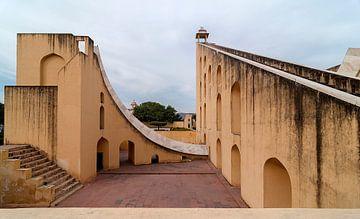 Jaipur: Jantar Mantar Astronomical Observatory van Maarten Verhees