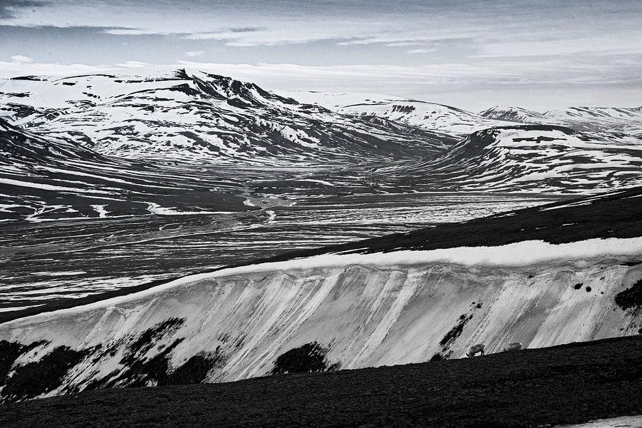 Adventdalen Spitsbergen van Abe Maaijen