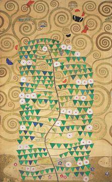 Werktekening voor de Stoclet-fries, deel 6, Gustav Klimt