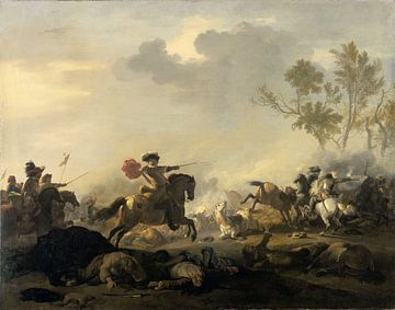 Reiterkampf, Jan van Huchtenburg