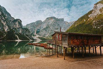 Lago Di Braies van Maikel Claassen Fotografie