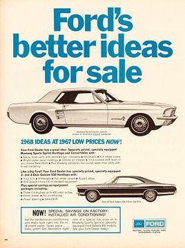 Werbung 1967 Ford Mustang von Jaap Ros