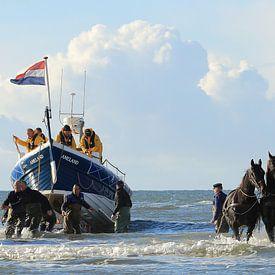 Paardenreddingsboot van Rinnie Wijnstra