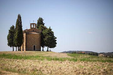 Cappella della madonna di vitaleta, Italië van Isabel van Veen