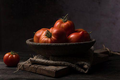 Schaal tomaten