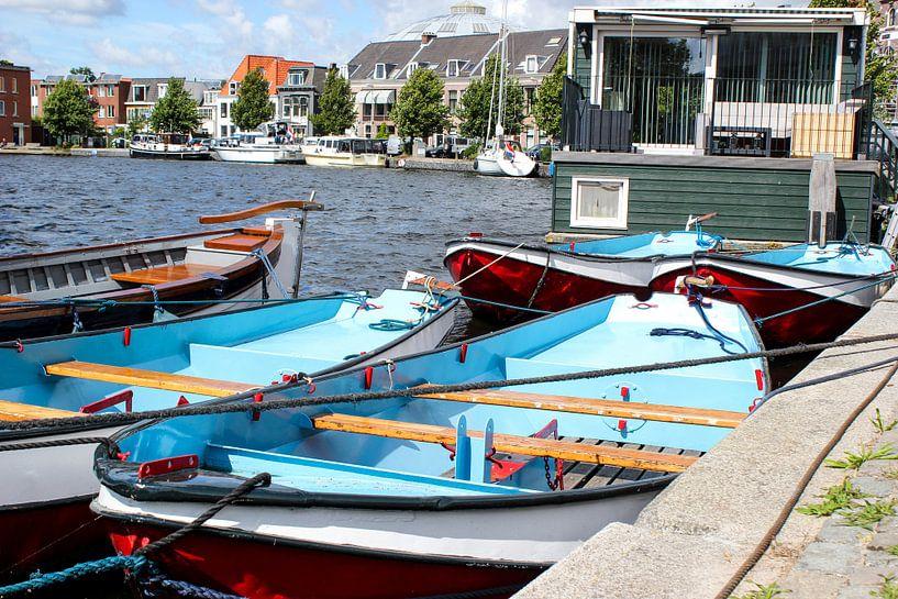 bootjes in Holland van Erik Koks