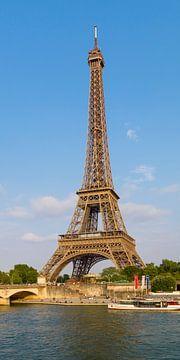 PARIS Eiffeltoren & van de Seine Panorama van