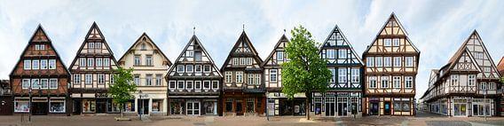 Celle, rue à colombages Zöllnerstraße
