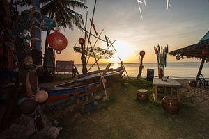 Sunset on Koh Lanta van