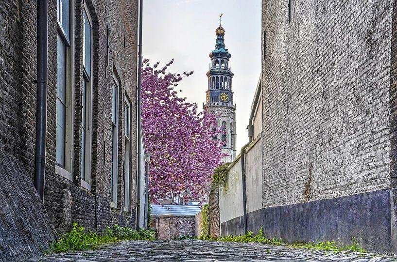 April in Middelburg van Frans Blok