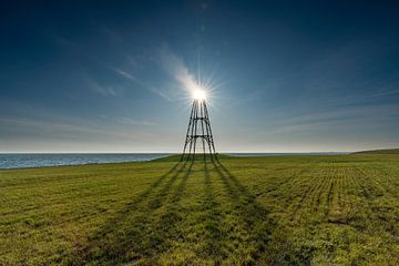 Texel - De Kaap on fire van Texel360Fotografie Richard Heerschap
