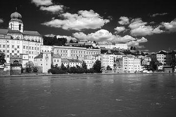 Passau, Bayern, Deutschland 1 schwarzweiß von Jörg Hausmann