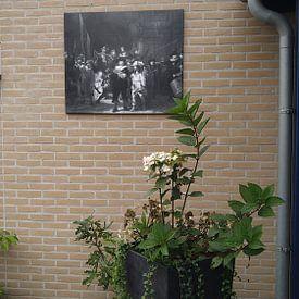 Kundenfoto: De Nachtwacht - Rembrandt, auf leinwand