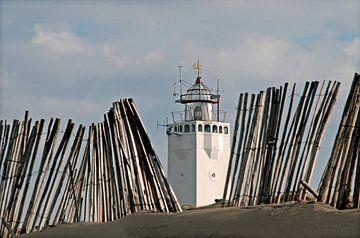 Vuurtoren Noordwijk van Hans Vink