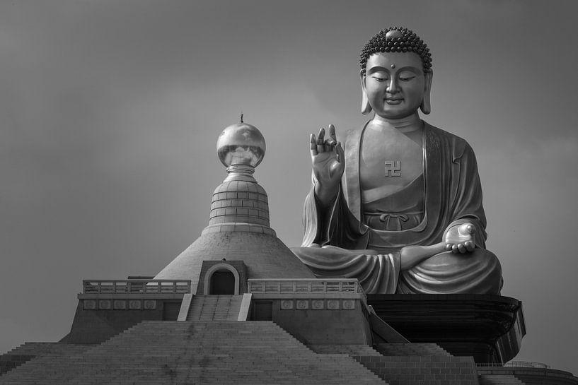 Buddha Memorial center in Taiwan van Jos Pannekoek