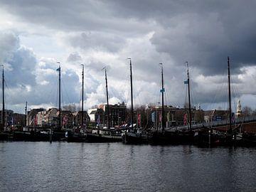 Schepen in Amsterdam van