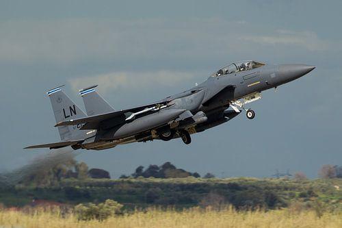 Amerikaanse Luchtmacht F-15E Strike Eagle