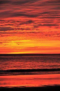 Sonnenuntergang von Esther van der Linden