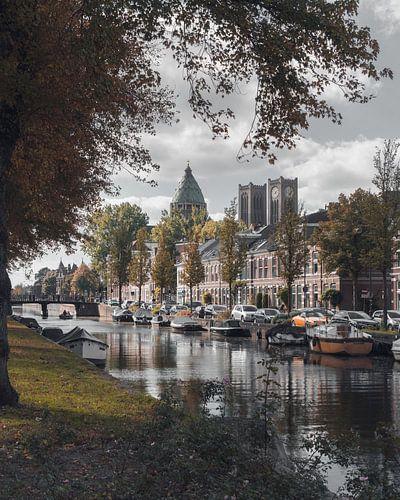 Haarlem: Leidse Vaart in herfsttinten. von Olaf Kramer